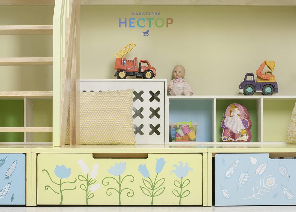Мебель-трансформер для детского сада